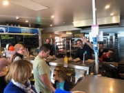 Dave-and-Team-at-Brighton Jetty Bakery - always friendly and makes a damn good coffee