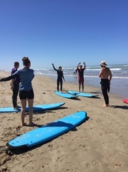 Warm-up-for-first-surfing-lesson