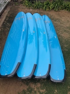 Mick Fanning Surf School Boards -these are suitable for the beginner or the experienced surfers - and perfect for the local conditions - ask Dave about one of his surf tour options