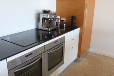2 Ovens Induction Cook top Coffee-Machine and all the pots pans etc to cater for 12 +